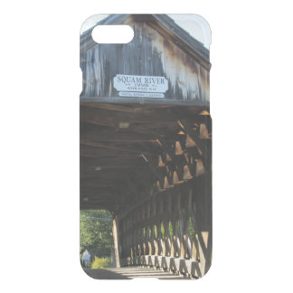 Puente cubierto del río de Squam Funda Para iPhone 7