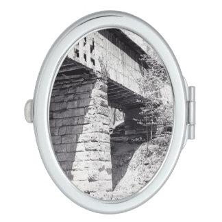 Puente cubierto espejo maquillaje