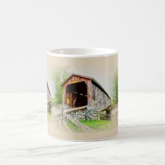 Puente cubierto  -- Taza de café