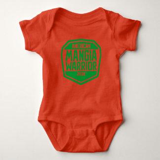 Puente de bebé con el logotipo del guerrero de body para bebé