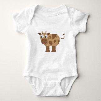 Puente de bebé de los animales del bebé body para bebé