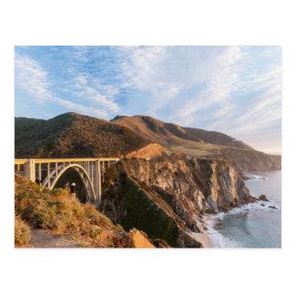 Puente de Bixby en California Postal