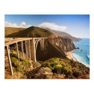 Puente de Bixby, Sur grande, California, los Postal