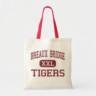 Puente de Breaux - tigres - joven - puente de Brea Bolsas De Mano