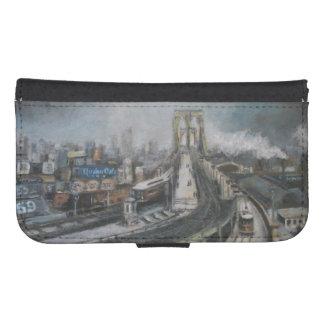 Puente de Brooklyn del vintage Nueva York Carteras