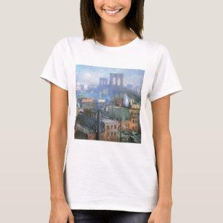 Puente de Brooklyn, East River, circa 1916 Camiseta