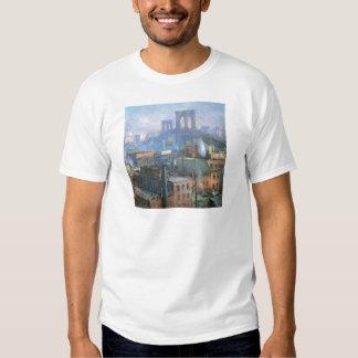 Puente de Brooklyn, East River, circa 1916 Camisetas
