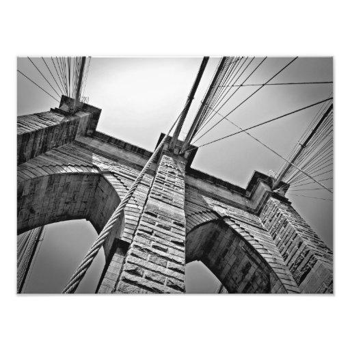 Puente de Brooklyn, impresión de la foto