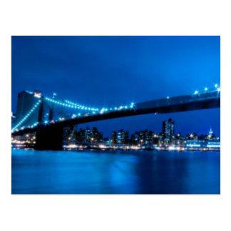 Puente de Brooklyn, Nueva York Postal