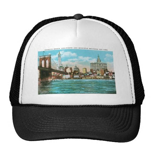 Puente de Brooklyn, Woolworth y Municipal… Gorras