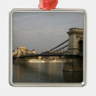 Puente de cadena de Szechenyi del lanchid de Szech Ornamento Para Reyes Magos