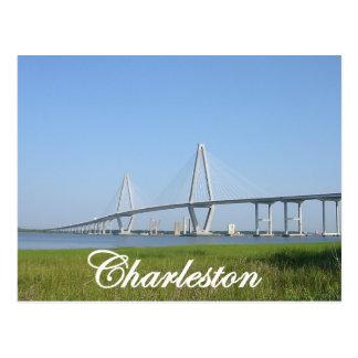Puente de Charleston Ravenel Tarjetas Postales