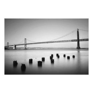 Puente de la bahía arte fotografico