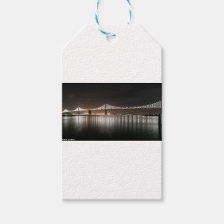Puente de la bahía etiquetas para regalos