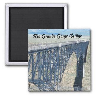 Puente de la garganta del Rio Grande Imán Cuadrado