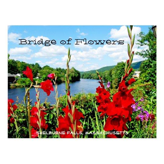 Puente de la postal de las flores
