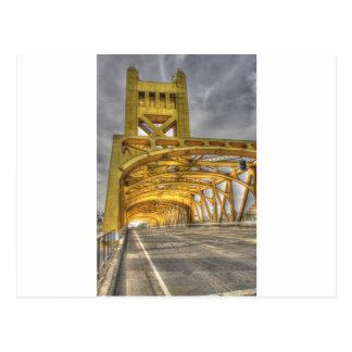 Puente de la torre de Sacramento Postales