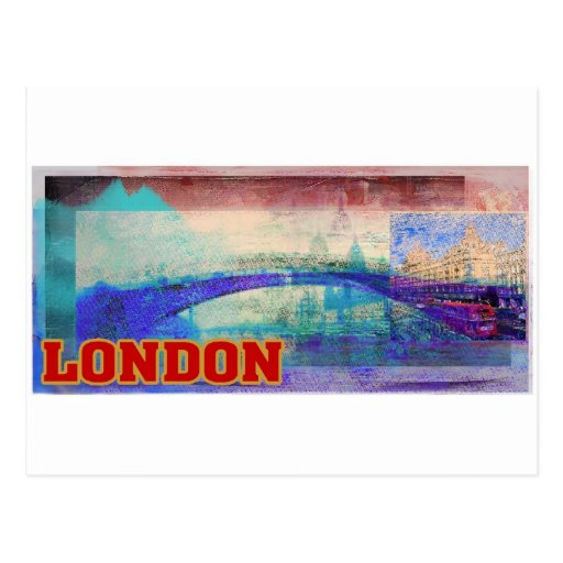 Puente de Londres Tarjeta Postal