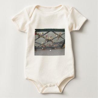 Puente de los amantes - cerraduras del amor de body para bebé