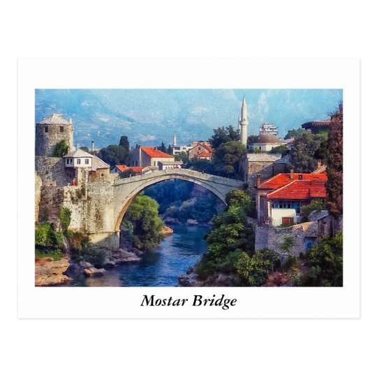 Puente de Mostar Postal