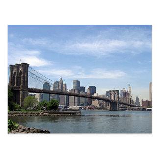 Puente de Nueva York - de Brooklyn Postal