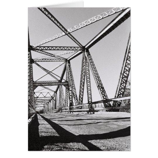 Puente de Owsley en Hagerman, Idaho, los E.E.U.U. Tarjeta Pequeña