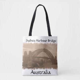 Puente de puerto de Sydney, bolso de Australia