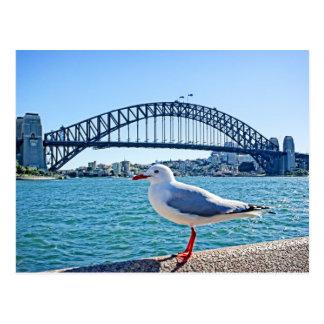 Puente de puerto de Sydney - postal de Sydney,