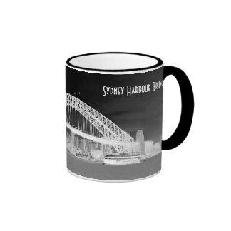 Puente de puerto de Sydney Taza De Dos Colores