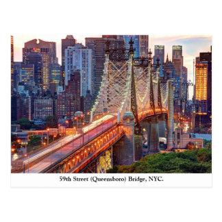 Puente de Queensboro, Nueva York Postal