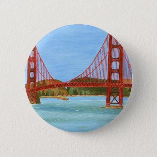 Puente de San Francisco Chapa Redonda De 5 Cm