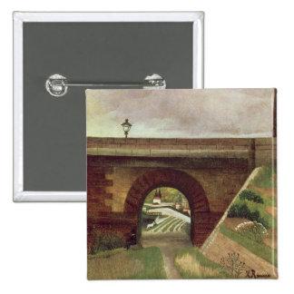 Puente de Sevres (aceite en lona) Pin