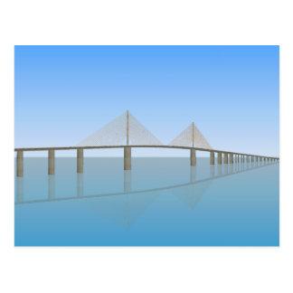 Puente de Skyway de la sol: Tampa Bay: Postal