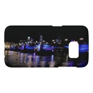 Puente de Southwark, el río Támesis en la noche, Funda Samsung Galaxy S7