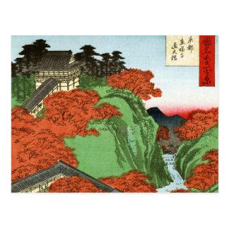 Puente de Tsuten, templo de Tofukuji en Kyoto Postal