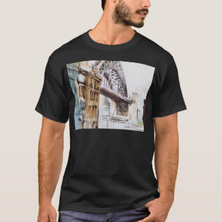 Puente de Tyne de la camiseta de decano Street