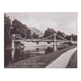 Puente de Victoria del vintage, enfermería Hertfor Postal