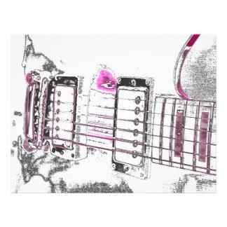 puente del negro del rosa de la imagen del esquema tarjetas informativas