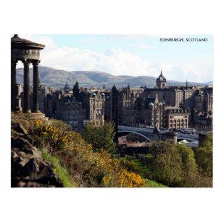 Puente del norte, postal de Edimburgo con la