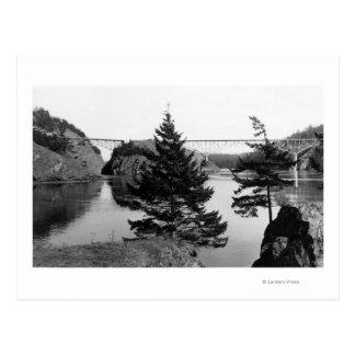 Puente del paso del engaño, opinión Photograp 2 de Postal