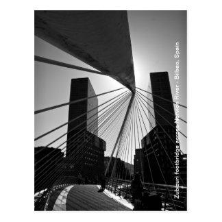 Puente en Bilbao Postales