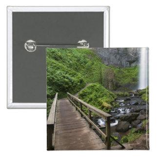Puente en las caídas de Latourell, garganta del rí Chapa Cuadrada