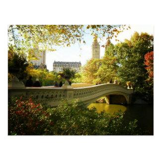 Puente en otoño, Central Park, New York City del a Tarjetas Postales