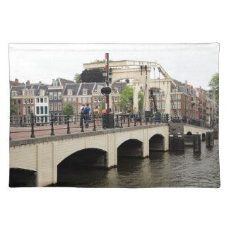 Puente flaco, Amsterdam, Holanda Salvamanteles