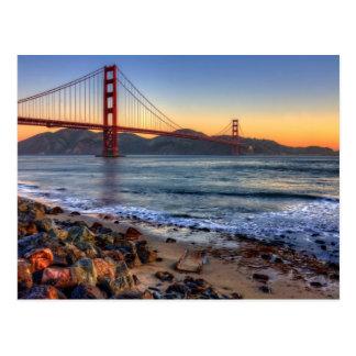 Puente Golden Gate del rastro de San Francisco Bay Postal