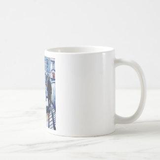 puente halpenny taza de café
