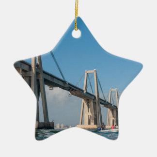 Puente Maracaibo Venezuela de general Rafael Urdan Adorno De Navidad
