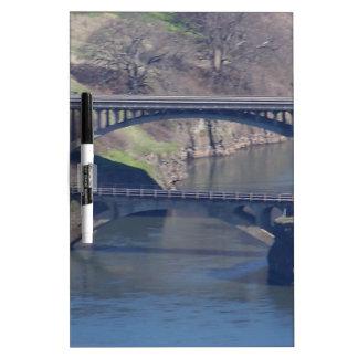 puente pizarras blancas