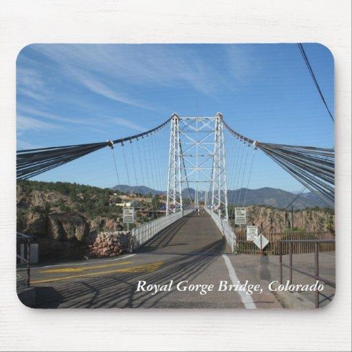 Puente real de la garganta, Colorado Alfombrillas De Ratones