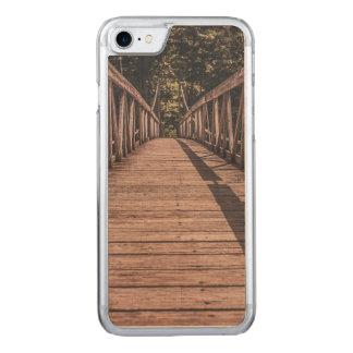 Puente suspendido viejo funda para iPhone 8/7 de carved